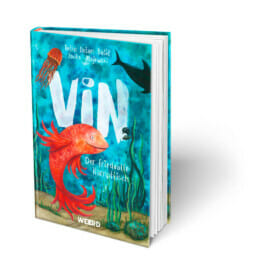"Buchcover, ""Vin – Der friedvolle Kampffisch"""